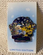 WDW Disney Pin~SPECTACLE OF DANCING LIGHTS~2008~Mickey & Pluto~LE 3000