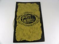 Vintage Original Marriot Inn Restaurant Menu Showboat Landing