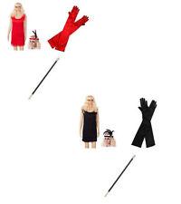 Disfraces de mujer de color principal rojo de poliéster talla XXL