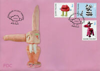 Finland 2017 FDC Posti Art Award Jasmin Anoschkin 3v S/A Cover Sculptures Stamps