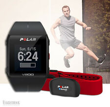 Polar V800 GPS HRM H7 Multisport Cycling Running Swimming Fintess Watch Black