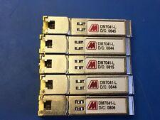 DM7041-R-L DataMate RJ45 Connector 10/100/1000BASE-T SFP Transceivers (Set of 4)