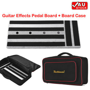 Big Size Guitar Effects Pedal Board + Pedalboard Carry Bag Case Durable