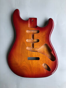 New Guitar Body replacement Mahogany SSS Style Glossy Painting For Strat Bolt on