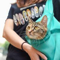Pet Dog Puppy Cat Carrier Pouch Bag Outdoor Travel Adjustable Sling Shoulder Bag