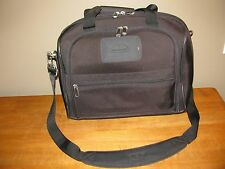Samsonite Boarding Tote Bag Carry On Luggage Black Tone-on-Tone Lightweight