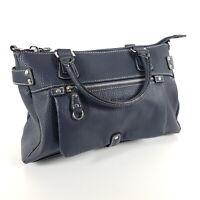 Picard Handtasche Loire 9893 Blau Leder Tragetasche Shopper Tasche Neu