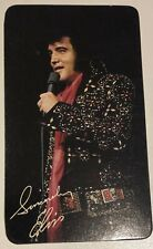 VINTAGE 1977 ELVIS PRESLEY -  Photo Calendar Collector Card - RCA Promo