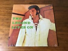 ELVIS PRESLEY THE LEGEND LIVES ON LP STILL IN SHRINK