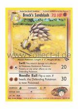 Pokemon Gym Challenge - Unlimitiert 36/132 - Brock's Sandslash  Englisch
