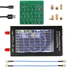 """NanoVNA-F V2 4.3"""" 50kHz-3GHz IPS LCD Vector Network Analyzer Antenna HF VHF UHF"""