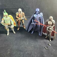 Star Wars Black Series Carbonized Mandalorian Lot