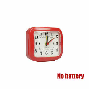 Newly Travel Alarm Clock Battery Operated Analog 12 Hours Home Decoration