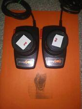 Atari 2600 Set of Driving Paddles, Tested and Cleaned! NO JITTER!