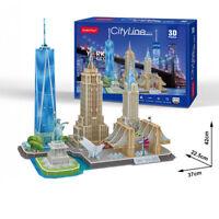 Cubic Fun - 3D Puzzle Stadtansicht New York