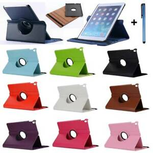 """For Samsung Galaxy Tab A 10.1"""" S5e 10.5"""" Leather Rotating Folio Stand Case Cover"""