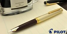 [Extra Fine nib] Pilot NAMIKI Elite 95s Fountain Pen Deep Red 14K EF New Japan