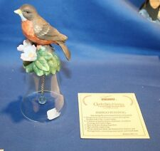 Porcelain and Crystal Bell Bird
