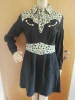 Coach Western Silk Dress BlackSize 34, 100% Silk new with tags