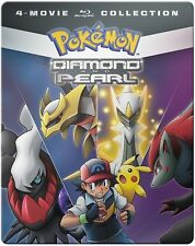 Pokemon Diamond & Pearl Movie 4-Pack (2016, Blu-ray NIEUW)