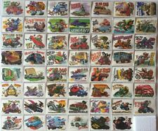 Weird Wheels Stickers Vintage Card Set 55 Cards