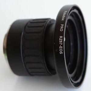 Fotodiox Pro Lens Mount Adapter Allows Mamiya RZ67 Lenses To mount Canon EOS