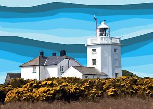 Cromer Lighthouse Norfolk Limited Art Print By Sarah Jane Holt