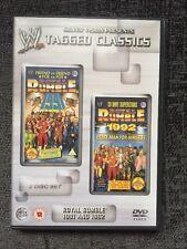 WWE Tagged Classics - Royal Rumble 1991 & 1992 DVD WWF Rare 91 92