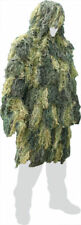 BRITISH ARMY SAS SPECIAL FORCES STYLE GHILLIE PARKA OVER JACKET in WOODLAND CAMO
