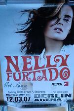 NELLY FURTADO  - Konzertposter  Tour Poster 2007