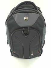 """NWD  Wenger  16"""" Laptop Computer Backpack - Rust/Black/Gray"""