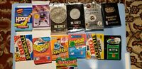 Nice Lot of 100 Unopened Old Vintage Baseball Cards in Wax Packs.