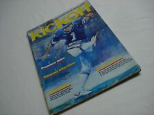 VINTAGE 1980'S 1983 USFL KICKOFF PREMIERE ISSUE TEAM STATS AND ADVERTISEMENTS