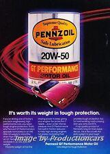 1983 Chevrolet Camaro Pennzoil Oil Original Advertisement Print Art Car Ad J708