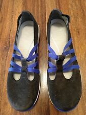 Womens size 40 ( 9.5-10) Dansko Hope Graphite Suede Shoes