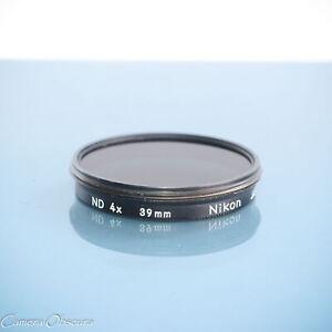 Nikon 39mm ND4x Neutral Density Screw-In Filter