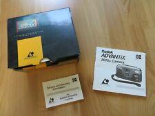 Kodak Advantix 3600ix ORIGINAL Camera Manual and Box (no camera)