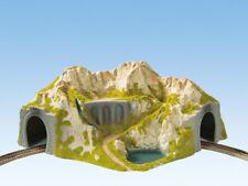 Tunnel D'angle 1 voie Cintré 410 / 370-ho 1/87-noch 05130