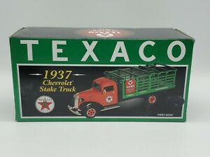 New First Gear 1937 Chevrolet Stake Truck Texaco Clean Clear Oil 19-2599