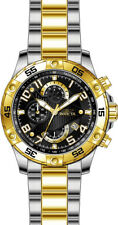 Invicta Men's S1 Rally Quartz Chrono 100m Two Tone Stainless Steel Watch 26100
