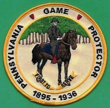 Pa Pennsylvania Game Commission Ross Leffler School 1895-1936 1st To Serve Patch