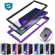 For Samsung Galaxy S21/Note 20 Ultra Case Clear Slim Shockproof TPU Armor Cover