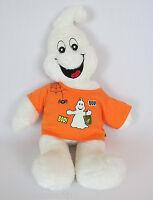 "Build-A-Bear Ghost Plush 19"" Boorrific Halloween Glow in the Dark T-Shirt"