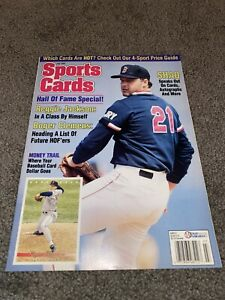 Sports Cards Magazine July 1993 w/ Baseball card insert sheet 1968 look