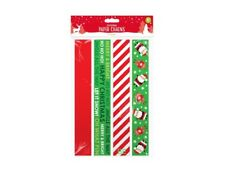 PARTY Decorations Chains Kids Candy Strips Santa Reindeer 80 Pack GIFT pack