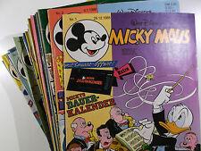 AUSWAHL = Micky Maus Comic Hefte 1986 Nr. 1 - 52 mit / ohne Beilagen