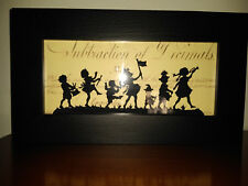Wubbels SILHOUETTE Child Children Marching playing Musical Instruments
