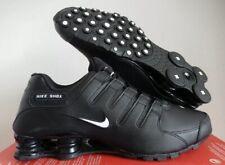 Nike Shox NZ EU Black White Men Running Trainer Shoe R4 501524 091 New Sz 10.5