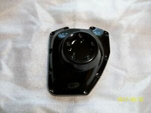 Harley cam cover, fits 2001-2017 twin cam-GLOSS BLACK POWDER COAT