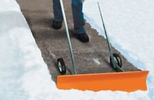 "NEW Dakota SnoBlade 36"" Snow Blade Removal Push Shovel on Wheels"